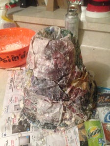 The Making of a Volcano!