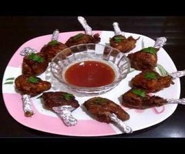 Chicken Lollipop Recipe | Super Tasty Chicken Lollipop | Easy Chicken Starter
