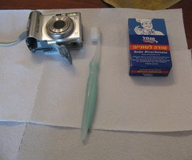 Save your digital camera with Baking Soda