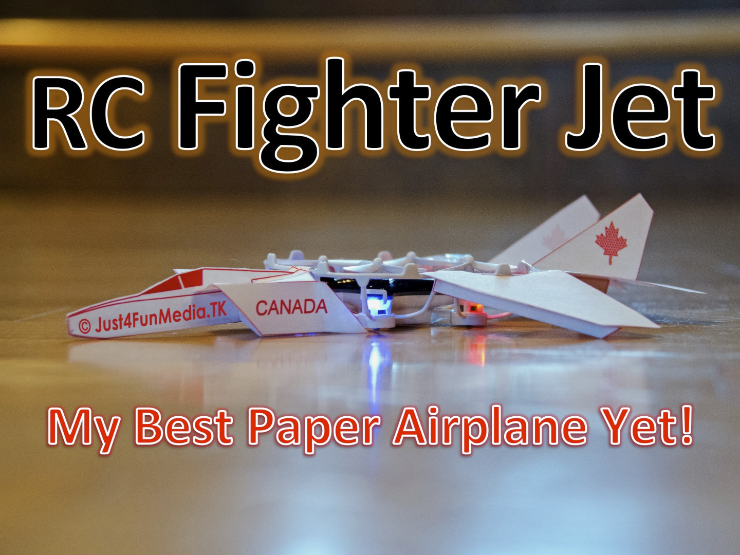 Picture of RC Paper Fighter Jet