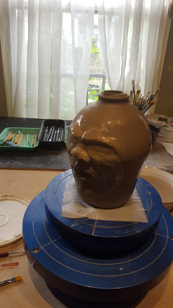 Picture of Start Connecting the Facial Structures.