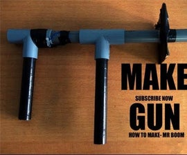 How to Make a Homemade Gun that Shoots - PVC Pipe and bottle