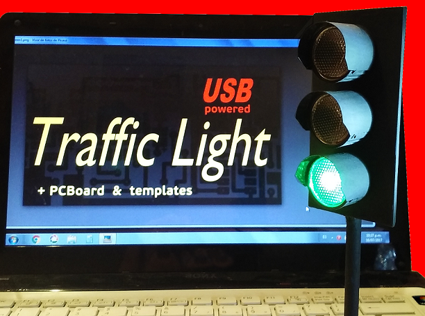 Picture of USB Powered Traffic Light