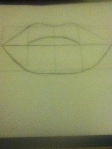 Draw Your Bottom Lip