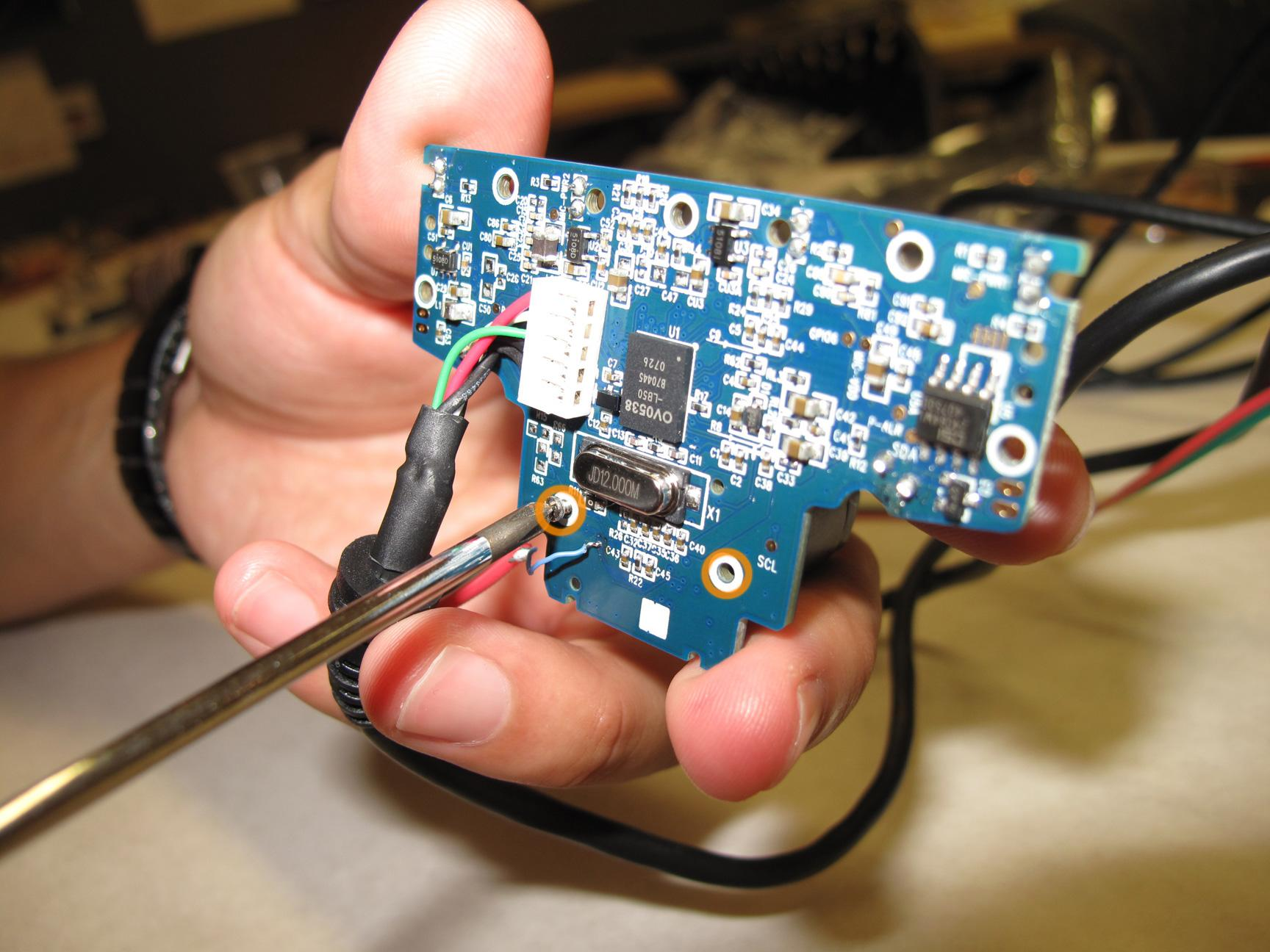Picture of Hacking the PS Eye Camera - Finishing