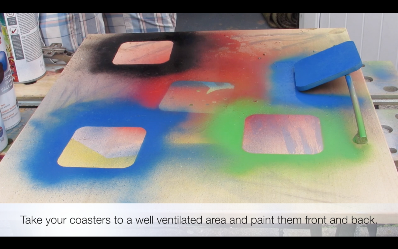 Picture of Spray Paint Your Base Layer