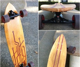 Building a Longboard -the complete process