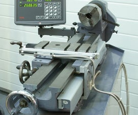 How to fit a digital readout to a lathe