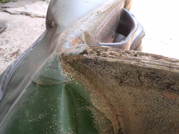 Picture of Repair Termite Eaten Dinghy Transom