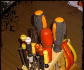 bench tools organizer
