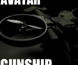 RC Avatar Gunship