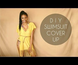 DIY Swimsuit Cover-Up (No Sewing Required)