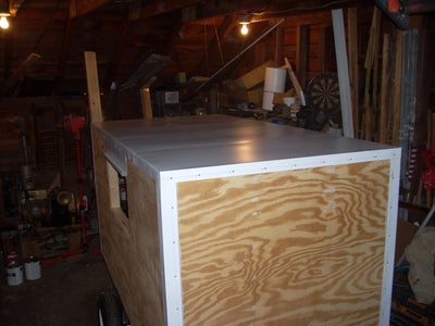 Installing Aluminum Trim and Roof