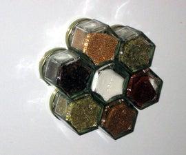 Magnetic Spice Jars