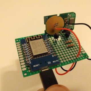 Wifi to RF - Door Lock
