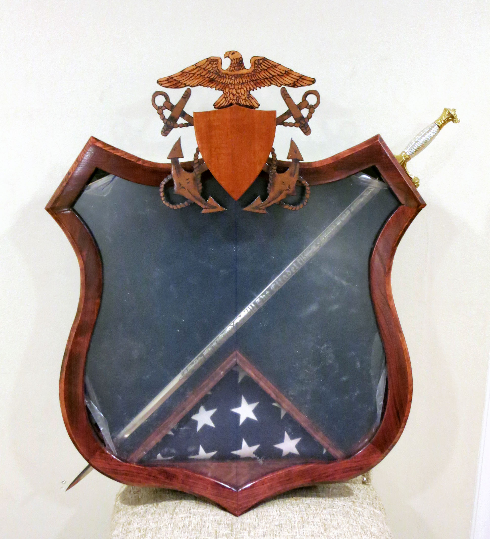 Picture of Navy Master at Arms Shadowbox