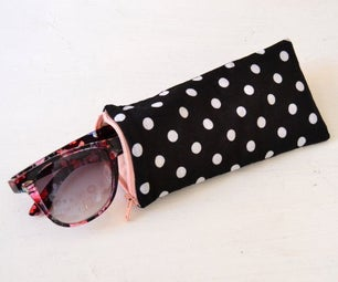 DIY Glasses Case With Zipper