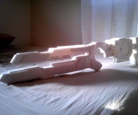 Pulse Laser Rifle - Costum/Cosplay