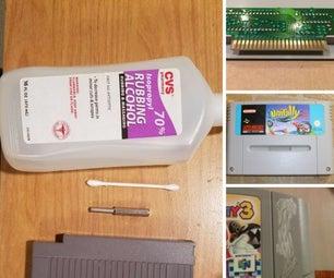 Video Game Cartridge Cleaning, Restoration, and Repair