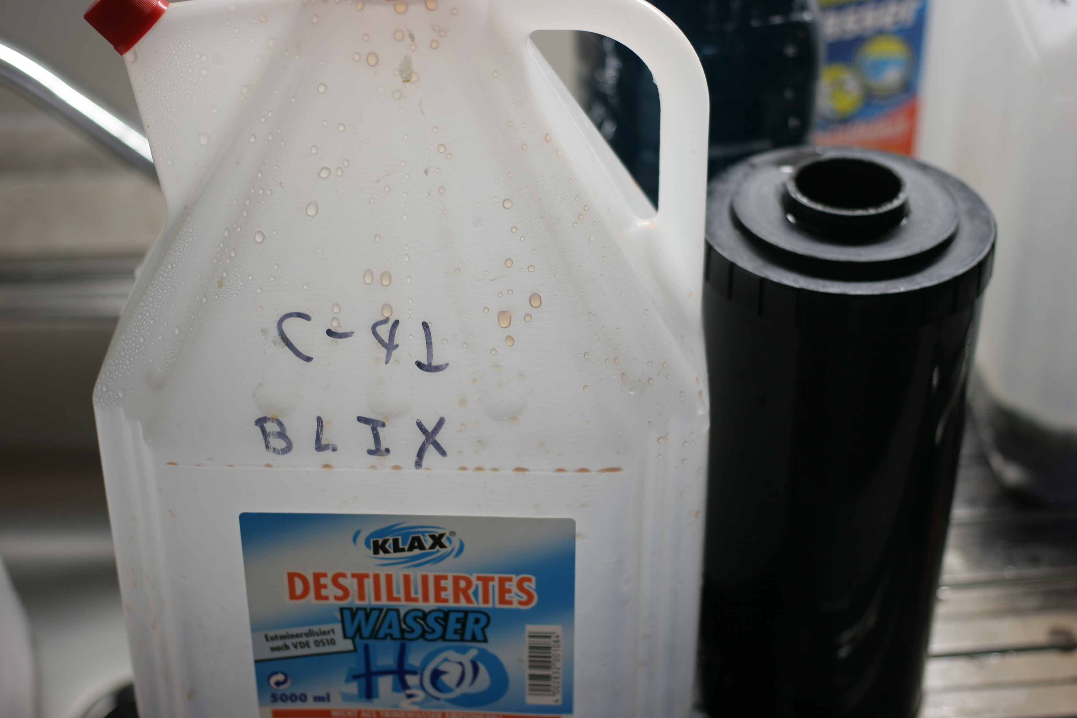 Picture of Bleach and Fix or Blix