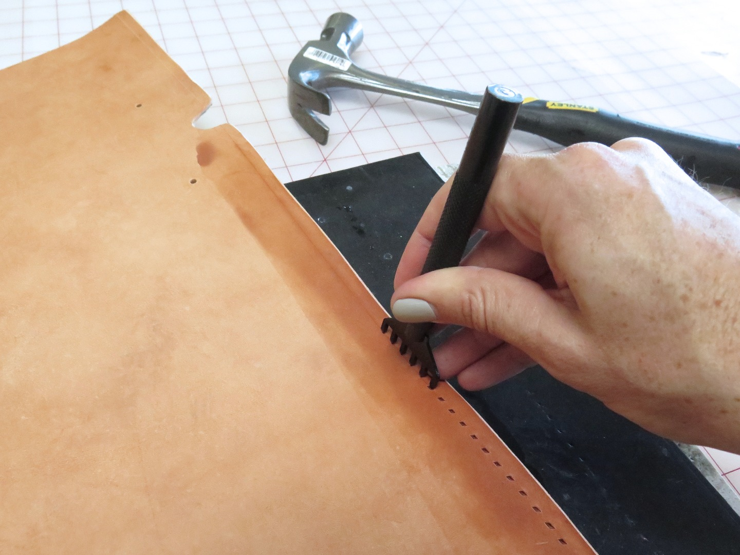 Picture of Punch and Dye the Leather