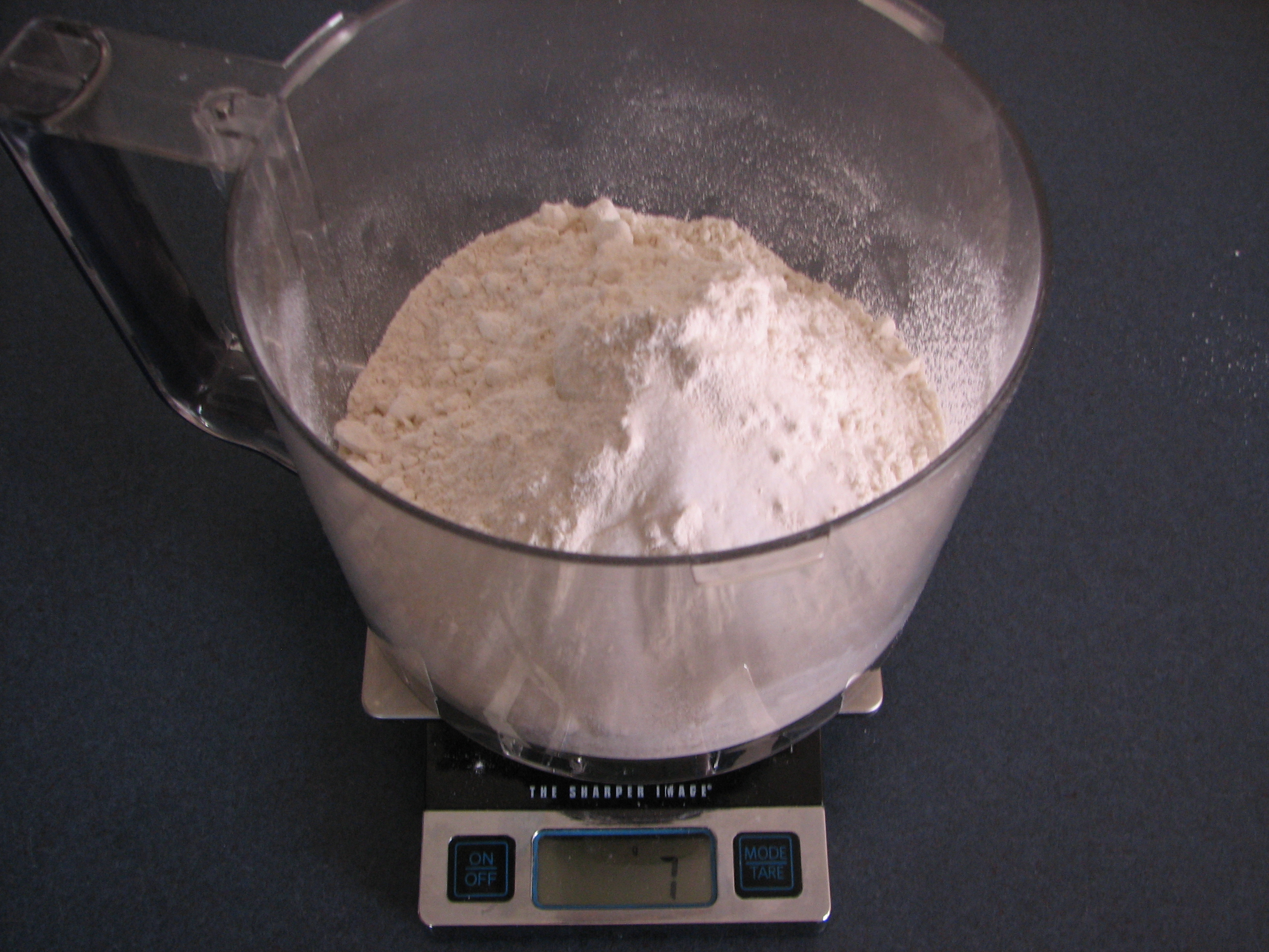 Picture of Combine Dry Ingredients for Dough