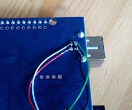 Solder USB-cable to Arduino UNO (clone)