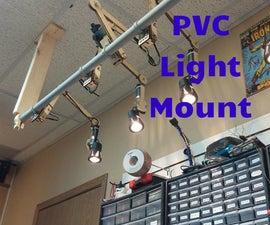 PVC Articulating Lights Mount