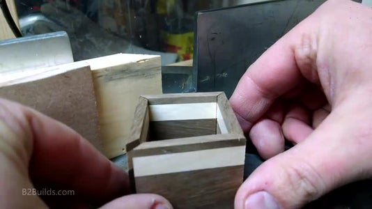 Cutting the Side Pieces
