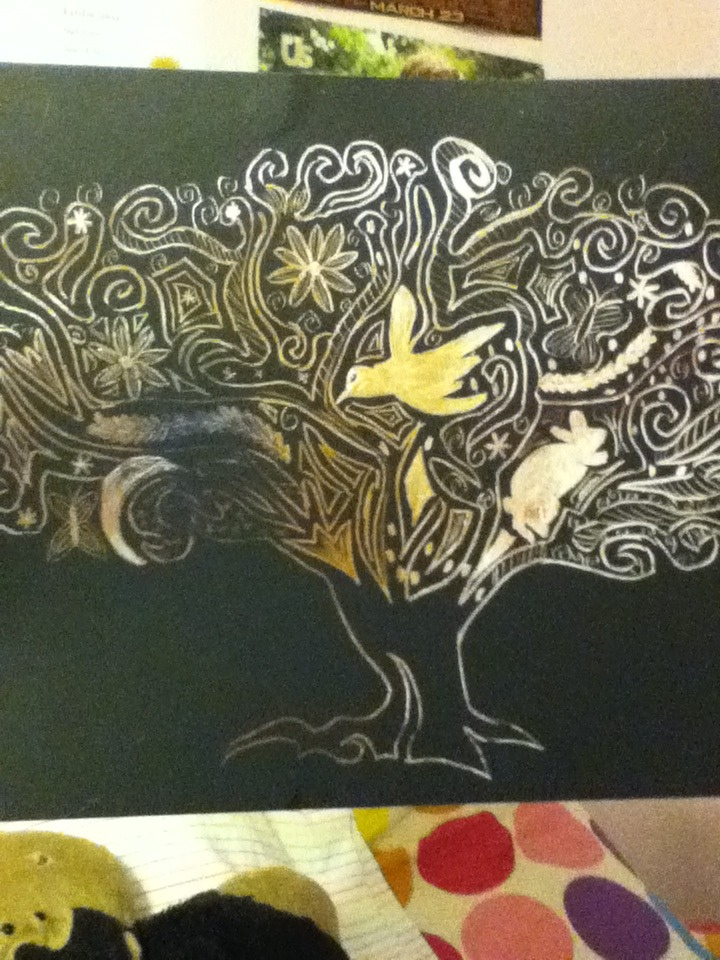 Picture of More Scratch Art!