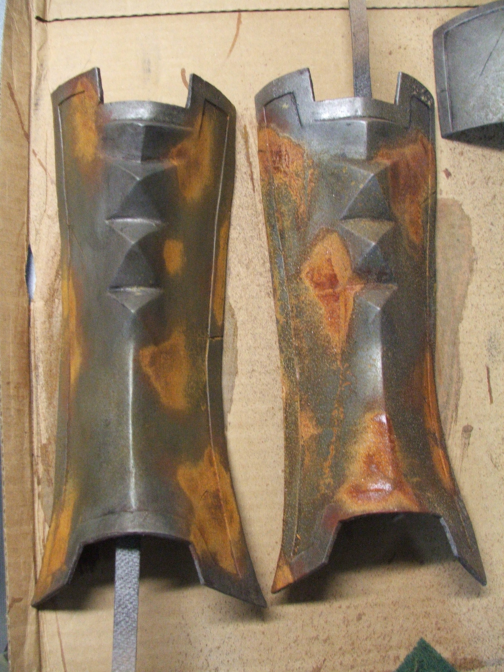 Picture of Weathering: Adding Rust