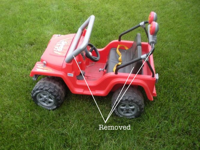 Picture of Remove Parts From Power Wheels