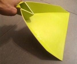 Flat pack dustpan