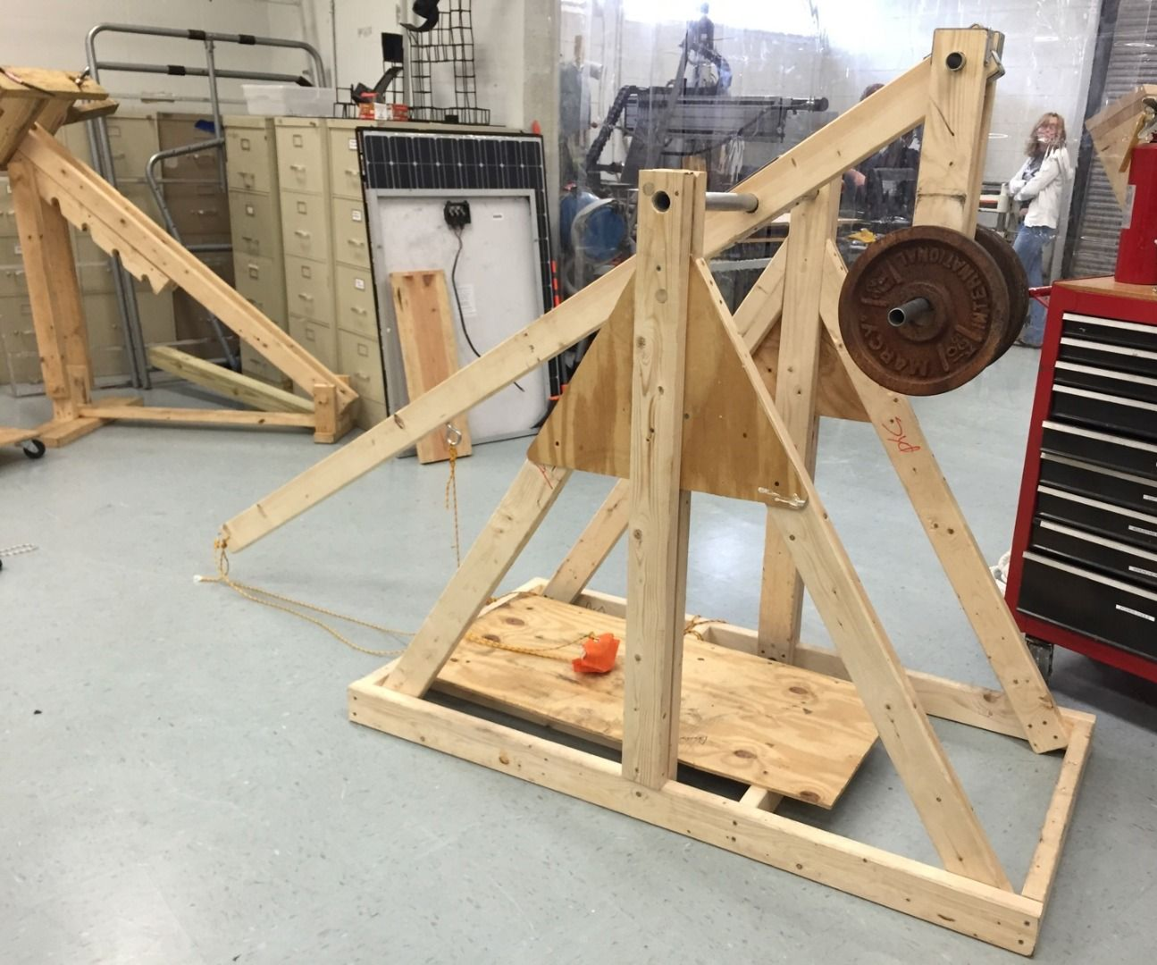 how to build an awesome trebuchet 17 steps with pictures