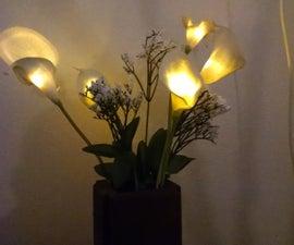Phoenix Fire Lily - Solar Rechargeable Decor