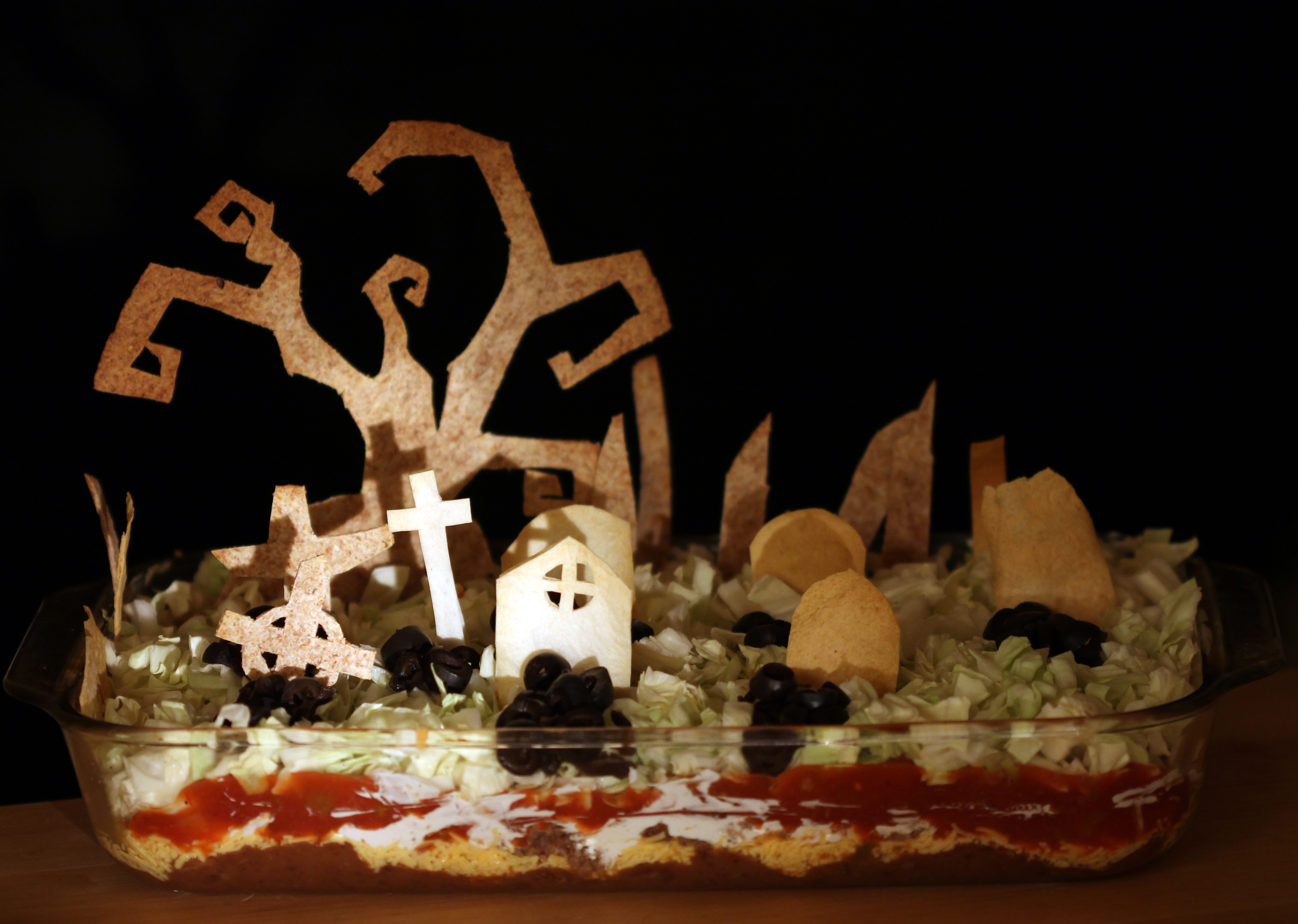 Picture of Spooky Seven Layer Dip