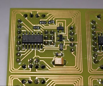 Soldering Surface Mount Components