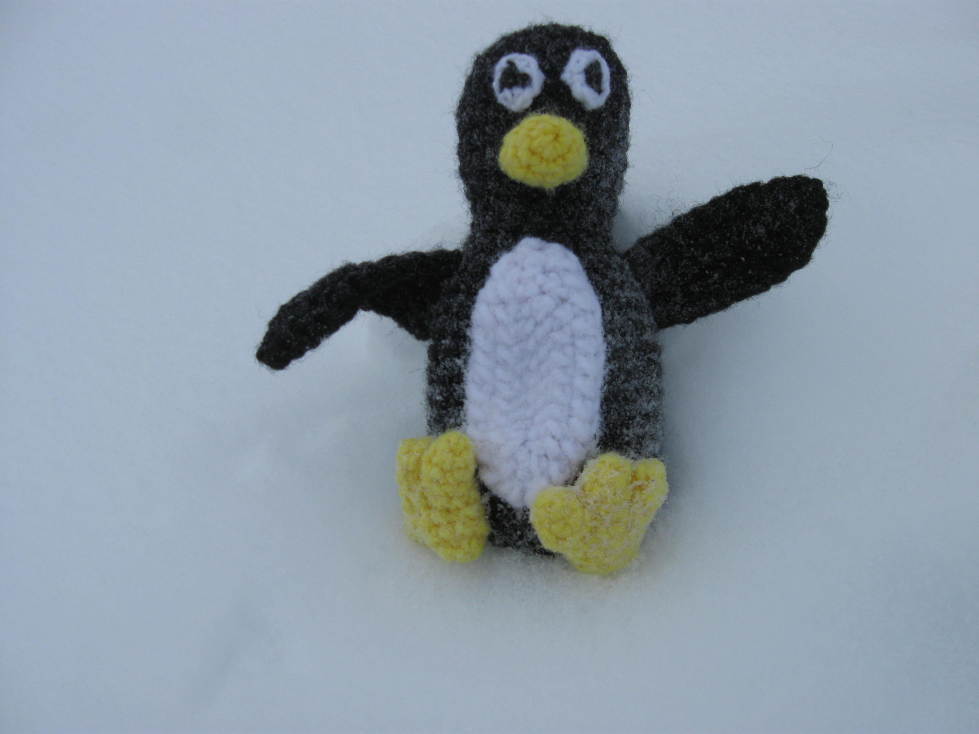 Picture of Crochet Penguin Tuxe