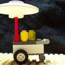 Lego Vendor Cart