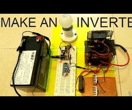 How To make an inverter using ARDUINO
