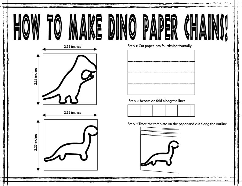 Picture of Add Some Dinosaur Paper Chains!