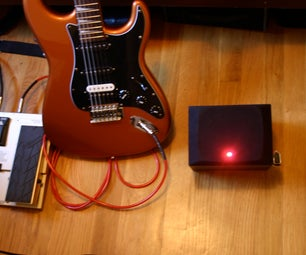 Portable Guitar Amp With Distortion / Bass Amplifier - 9v / LM386 IC