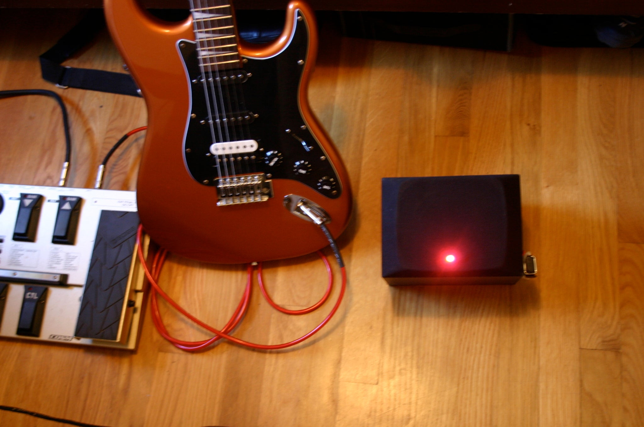 Portable Guitar Amp With Distortion Bass Amplifier 9v Lm386 Ic Encore Wiring Diagram 3 Steps