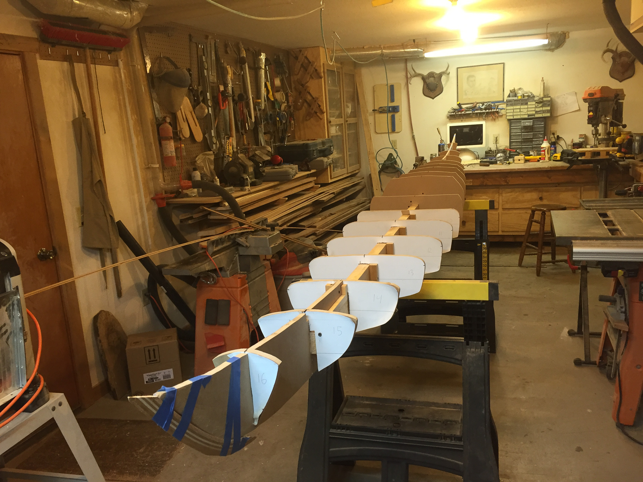 Picture of Laminating the Bow Strips