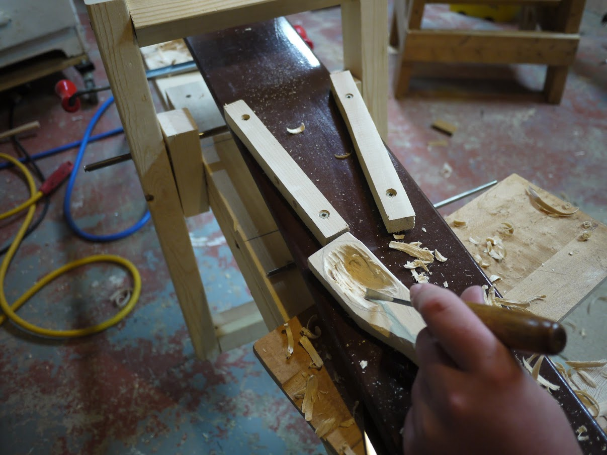 Picture of Hollowing Out the Spoon
