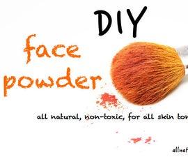 DIY Face Powder - Using Ingredients in Your Kitchen!