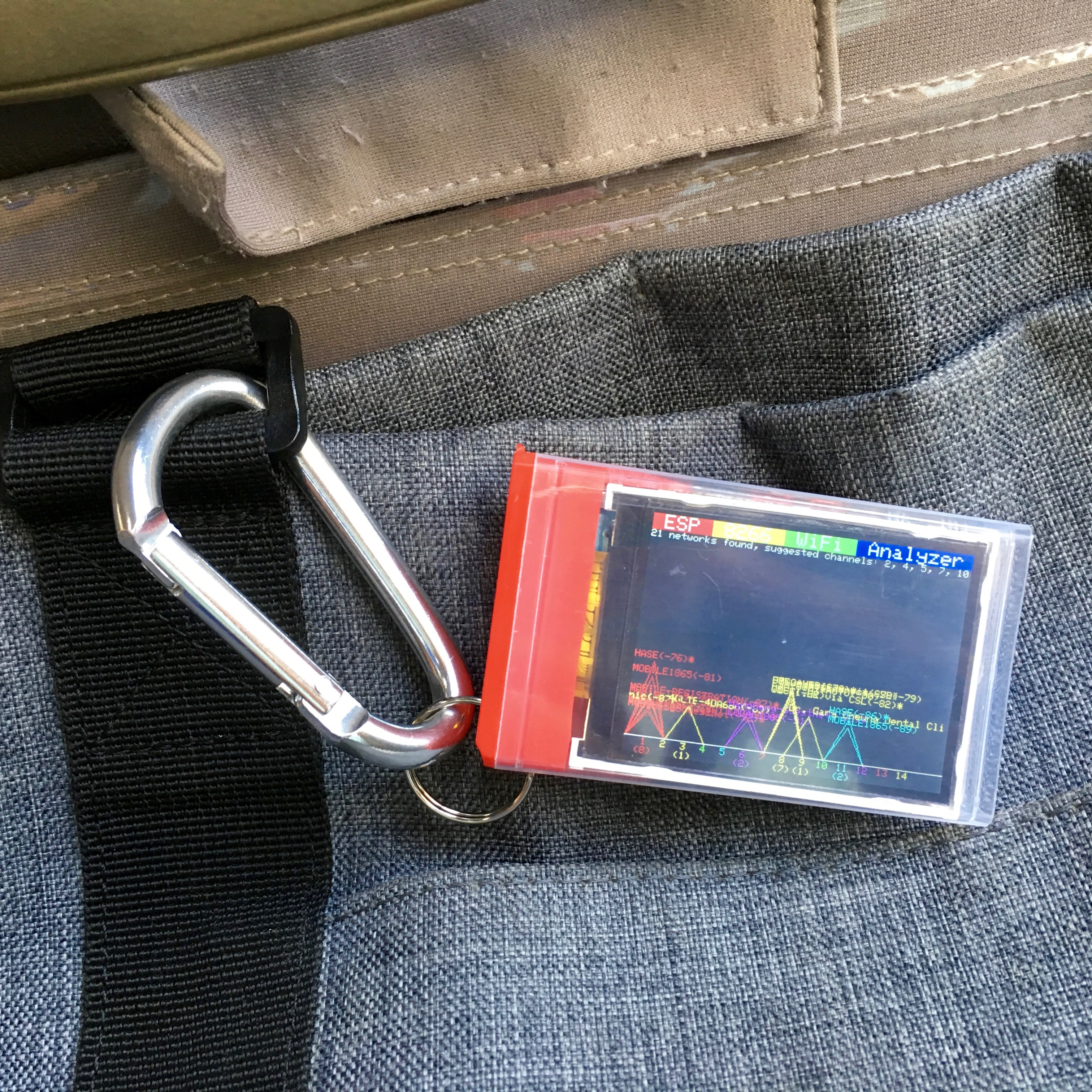 Picture of Portable WiFi Analyzer