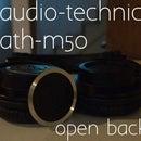 Audio-Technica ATH-M50 Open-Back Mod
