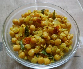 Chick Pea Sundal(snack)