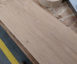 Restoring Old Wooden Boards - Fixing Nail Holes